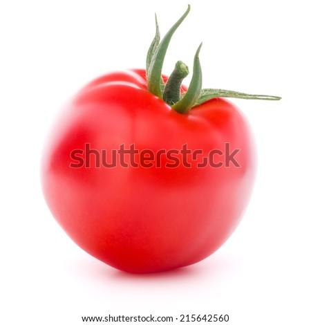 Tomato vegetable isolated on white background cutout #215642560