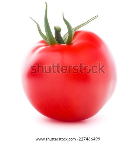 Tomato vegetable isolated on white background cutout #227466499