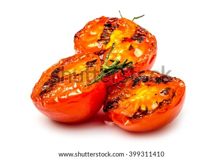 Tomatoes grilled