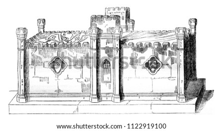 tomb of the archbishop philip...