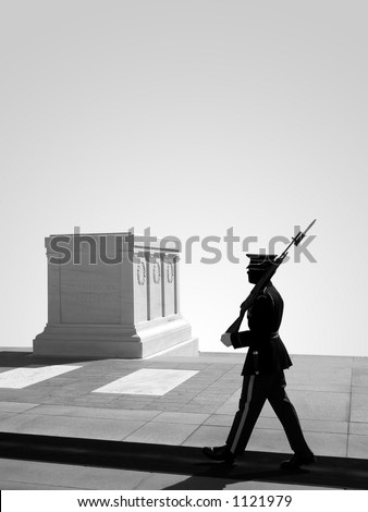 Tomb of the Unknown Soldier, Arlington National Cemetery. Washington D.C.