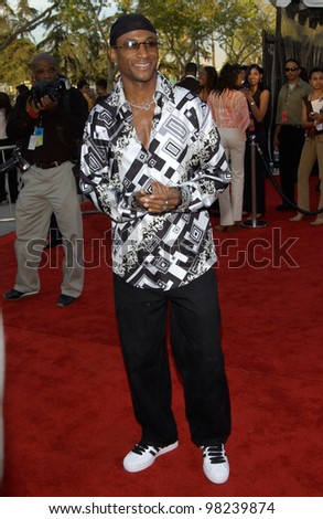 TOMMY DAVIDSON at the 16th Annual Soul Train Music Awards in Los Angeles. 20MAR2002.   Paul Smith / Featureflash