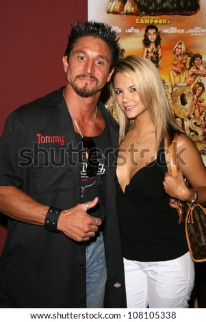 Tommy Gunn And Ashlynn Brooke At The Preview Screening Of