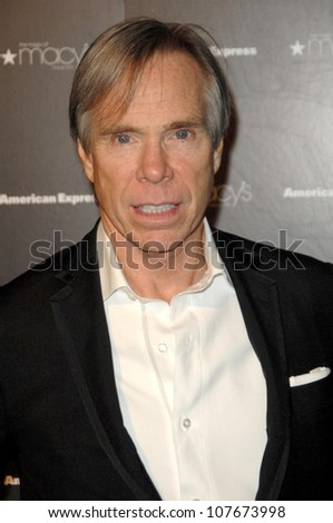 Tommy Hilfiger  at the Macy's Passport 2008 Gala. Barker Hanger, Santa Monica, CA. 09-25-08 - stock photo