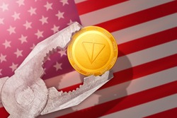 TON regulation in USA; telegram gram coin is under pressure; ton blockchain