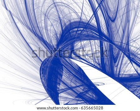 Toned color monochrome abstract fractal illustration. Design element for book covers, presentations layouts, title and page backgrounds.Raster clip art. #635665028