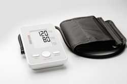 Tonometer showing normal pressure: the concept of prevention and treatment of cardiovascular diseases.