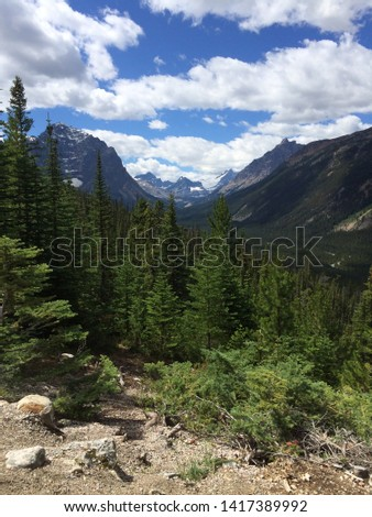 Tonquin Valley in the Canadian Rockies #1417389992