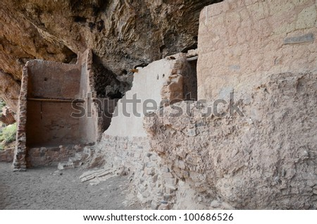 Tonto National Monument - stock photo