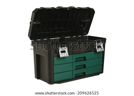 Tool box on white background #209626525