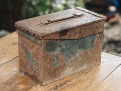 Tool Box steel old