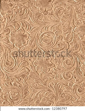 free leather carving patterns - Carving - art created using knife