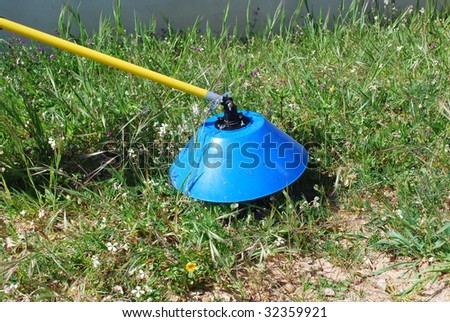 tools for fertilizing the soil (sulphate)