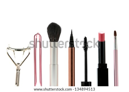Tools for making up - stock photo