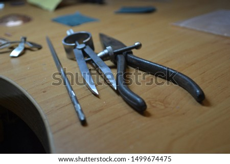 tools for processing of jewelry