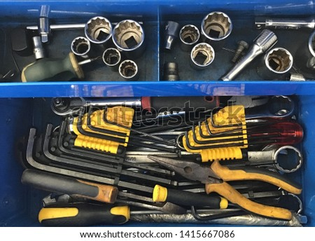 Tools from a tool box