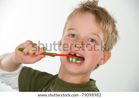 tooth-brushing