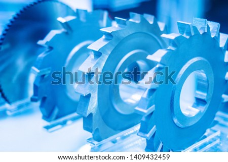 Tooth gears. Production of metal auto parts. Gear-cutting work. Engineering. #1409432459