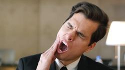 Toothache, Pain in Teeth, Gesture by Businessma, Portraitn