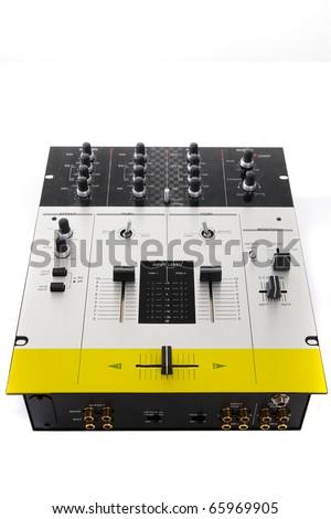 Top-class mixer for a hip-hop scratch disc jockey