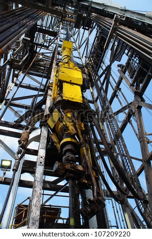 Top Drive System (TDS) for Oil Drilling Rig - Petroleum Industry