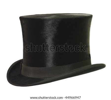 Top Hat isolated on white background Сток-фото ©