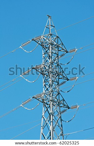 Top High voltage pole