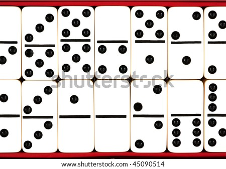 Top Layer Domino Tiles Stock Photo 45090514 : Shutterstock