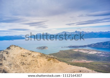 Top of Cerro Guanaco, Tierra del Fuego National Park, Ushuaia -