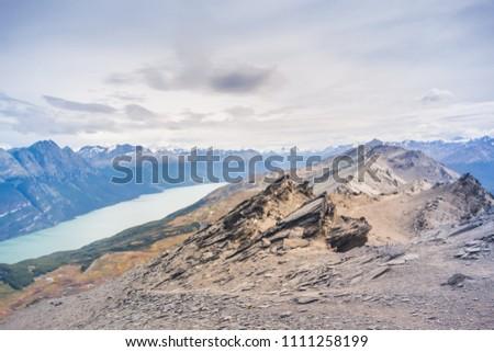Top of Cerro Guanaco, Tierra del Fuego National Park, Ushuaia - Argentina.