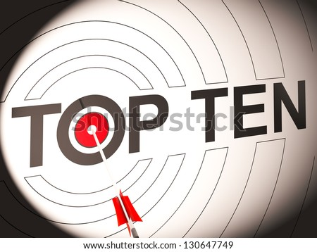 Top Ten Target Showing Special Rated Companies
