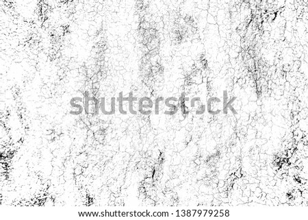 top view cracked soil ground Earth texture on white background, desert cracks,Dry surface Arid in drought land, floor has many grooves and scratches. The distressed has been shown to last a long time. #1387979258
