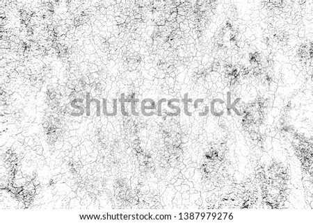 top view cracked soil ground Earth texture on white background, desert cracks,Dry surface Arid in drought land, floor has many grooves and scratches. The distressed has been shown to last a long time. #1387979276