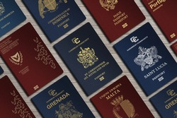 Top View, International Passports, citizenship  by Investment, Nationality, Malta, Citizens of Kitts and Nevis, Portugal, Cyprus, Dominica, Montenegro, Saint Lucia, Grenada