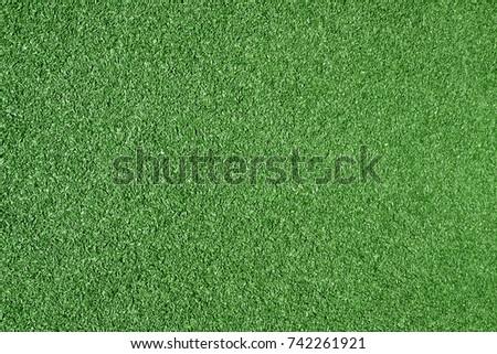 Top view of beautiful green grass texture - Shutterstock ID 742261921