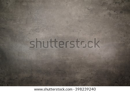 Top view of grey kitchen table background.