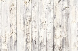 Top view old white wood pattern natural  texture and surface background, Pinaceae, Khasiya Pine