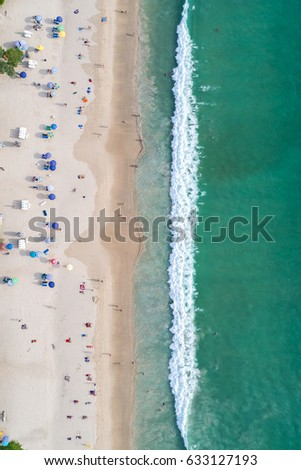 Shutterstock Top view Patong beach in Phuket province, southern of Thailand. Patong beach is a very famous tourist destination in Phuket. Aerial view from flying drone.