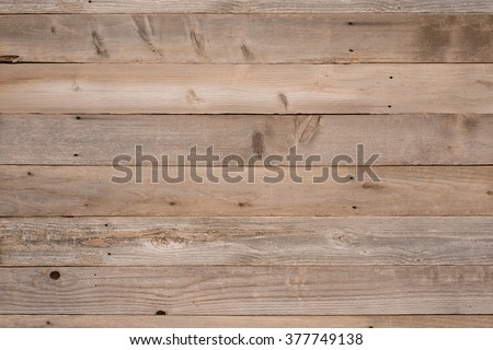 Top View Photo of Naturally Aged, Rough textured Rustic dull Brown Cedar Wood Boards for Backgrounds and Templates with Blank Room or Space for your Design, Words, Text or Copy.  Horizontal rectangle