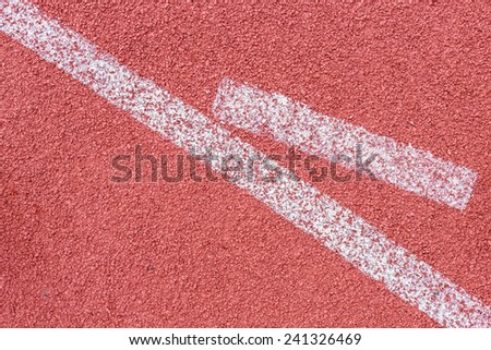 top view rubber running track texture