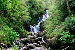 Torc waterfall at Killarney national park