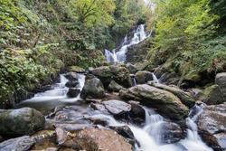 Torc Waterfall in Killarney National park Ireland
