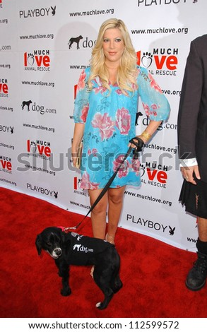 Tori Spelling at the \