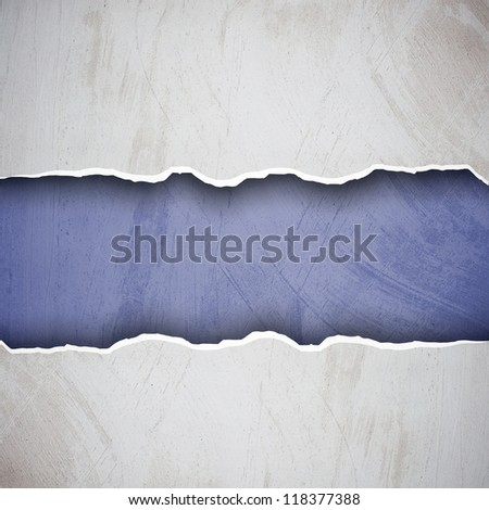 Torn plaster wall surface for background