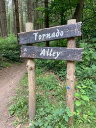 Tornado Alley at Sherwood Pines National Park. Riding Trails in the UK