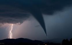 tornado and lightening bolt