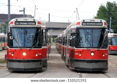 toronto   july 22  streetcars...
