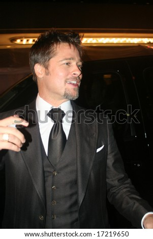 Toronto, On,Canada, September 5:actor Brad Pitt on the red carpet at the Toronto International Film Festival on september 5, 2008