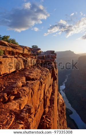 Toroweap point at sunrise, Grand Canyon National Park