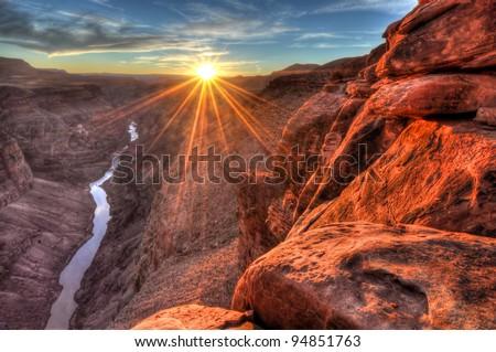Toroweap (Sunset) Grand Canyon National Park, Arizona